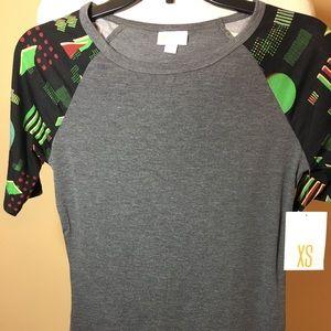 Lularoe julia dress xs new with tags